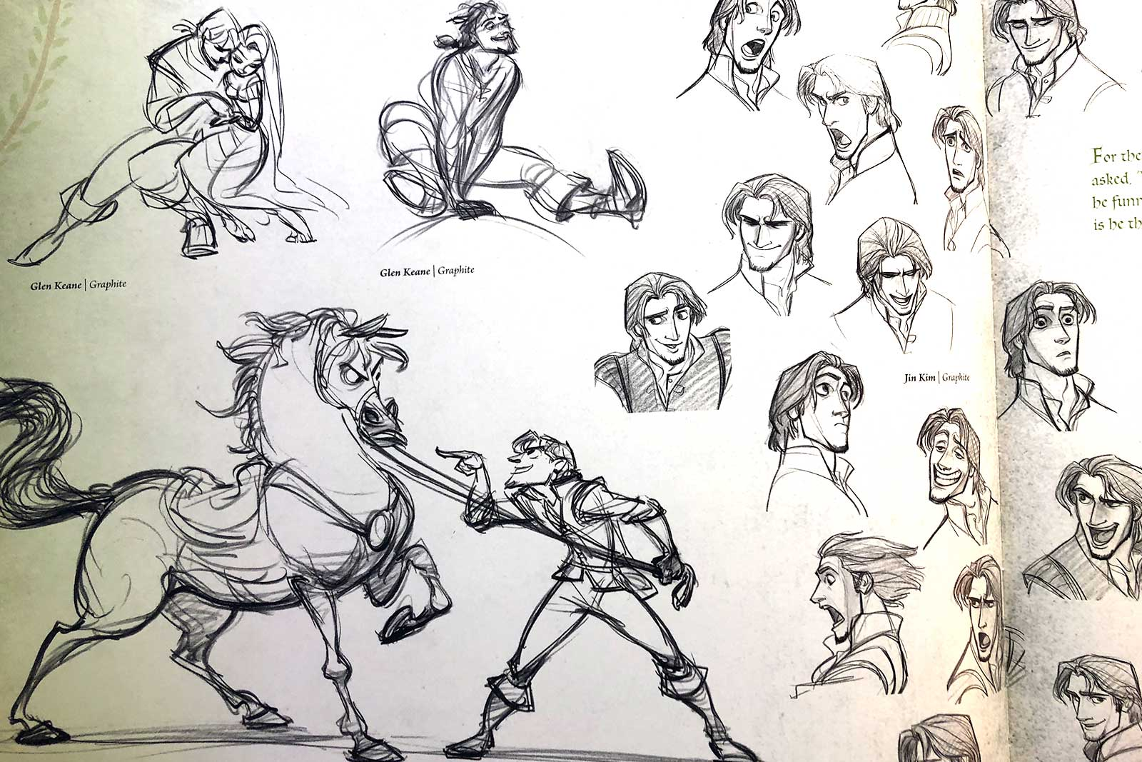 Concept Art Character Sketches